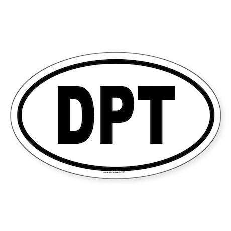 DPT Oval Sticker