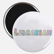 Librarian Patchwork Magnet