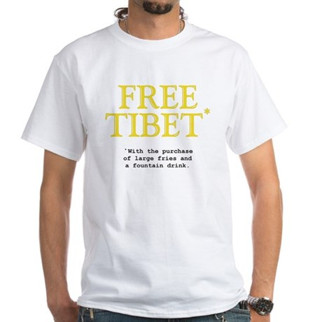 Free Tibet and satisfy your hunger