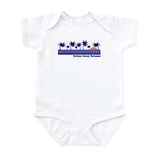 Harbour Island, Bahamas Infant Bodysuit