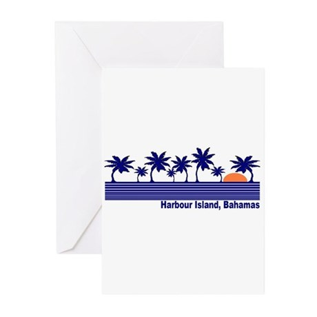 Harbour Island, Bahamas Greeting Cards (Pk of 10)