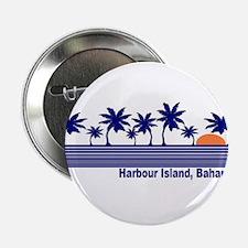 "Harbour Island, Bahamas 2.25"" Button"