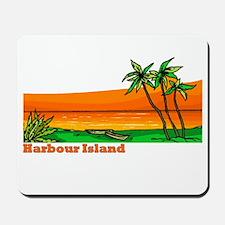 Harbour Island, Bahamas Mousepad
