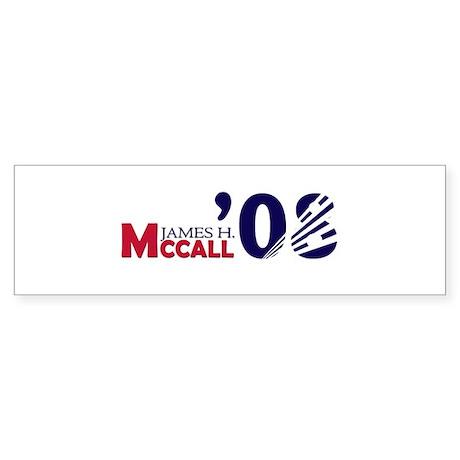 James H. McCall 08 Bumper Sticker