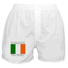 Irish Blood & Whiskey Boxer Shorts
