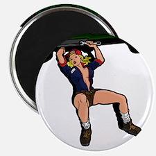 CAR MECHANIC GIRL Magnet