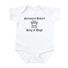 Norwegian Buhund - King of Do Infant Bodysuit