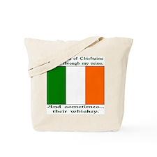 Irish Blood and Whiskey Tote Bag