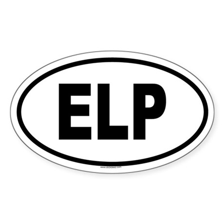 ELP Oval Sticker