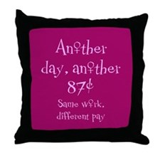Another 87 Cents Throw Pillow