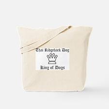 Thai Ridgeback Dog - King of  Tote Bag