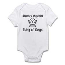 Sussex Spaniel - King of Dogs Infant Bodysuit
