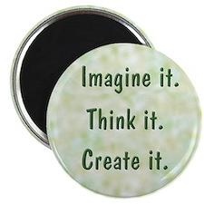 "Imagine It 2.25"" Magnet (10 pack)"