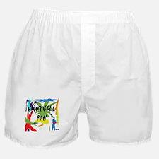 Paintball Fan Boxer Shorts