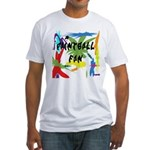 Paintball Fan Fitted T-Shirt