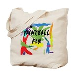 Paintball Fan Tote Bag