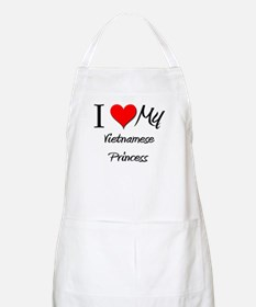 I Love My Vietnamese Princess BBQ Apron