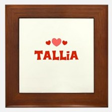 Tallia Framed Tile