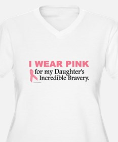 Pink For My Daughter's Bravery 1 T-Shirt
