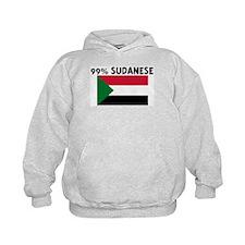 99 PERCENT SUDANESE Hoodie