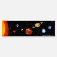 Our Solar System Bumper Bumper Bumper Sticker