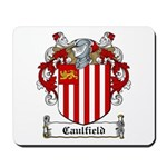 Caulfield Family Crest Mousepad