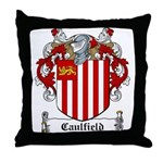 Caulfield Family Crest Throw Pillow