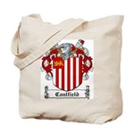 Caulfield Family Crest Tote Bag