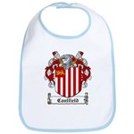 Caulfield Family Crest Bib