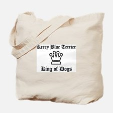 Kerry Blue Terrier - King of  Tote Bag