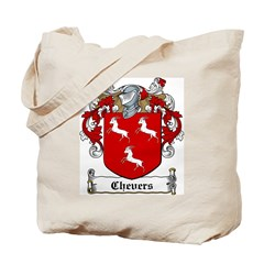 Chevers Family Crest Tote Bag
