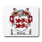 Clancy Family Crests Mousepad