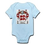 Clancy Family Crests Infant Creeper