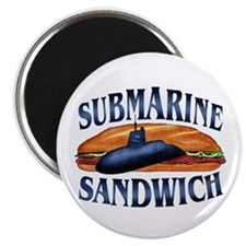 "Submarine Sandwich 2.25"" Magnet (100 pack)"