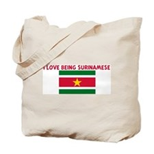 I LOVE BEING SURINAMESE Tote Bag