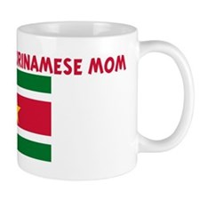 I LOVE BEING A SURINAMESE MOM Mug