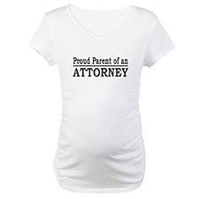 """Proud Parent of an Attorney"" Shirt"