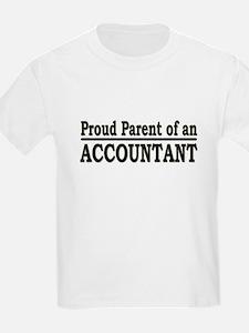 """Proud Parent of an Accountant"" T-Shirt"