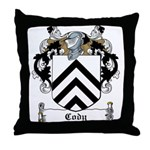 Cody Family Crest Throw Pillow