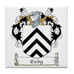 Cody Family Crest Tile Coaster