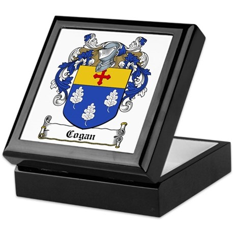 Cogan Family Crest Keepsake Box