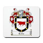 Cole Family Crest Mousepad