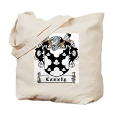 Connolly Family Crest Tote Bag