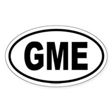GME Oval Decal