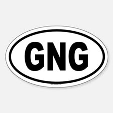 GNG Oval Decal