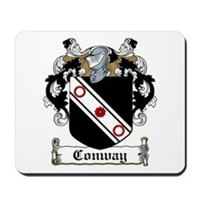 Conway Family Crest Mousepad