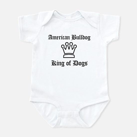 American Bulldog - King of Do Infant Bodysuit