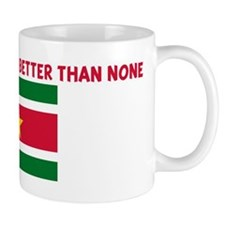 25 PERCENT SURINAMESE IS BETT Mug