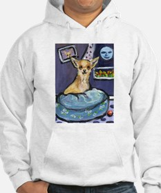 Chihuahua in Bed Hoodie