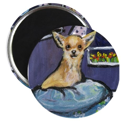 Chihuahua in Bed Magnet